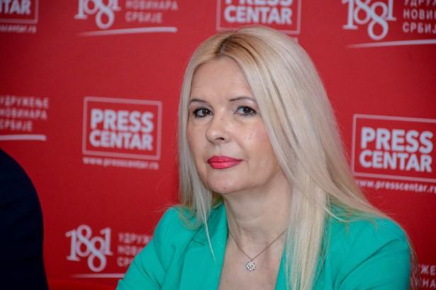 Slavica Trifunović (foto: Pres centar UNS-a)