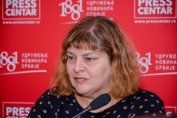 Gordana Janković (foto: Pres centar UNS-a)
