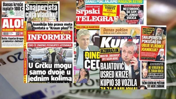 U prvih pet meseci 2020. izdavačima medija koji krše novinarski kodeks na konkursima oko 220 hiljada evra